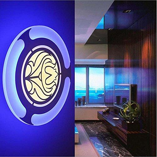 NIHE chambre salon moderne simple et élégant éclairage LED couloir lampe mur ombre acrylique
