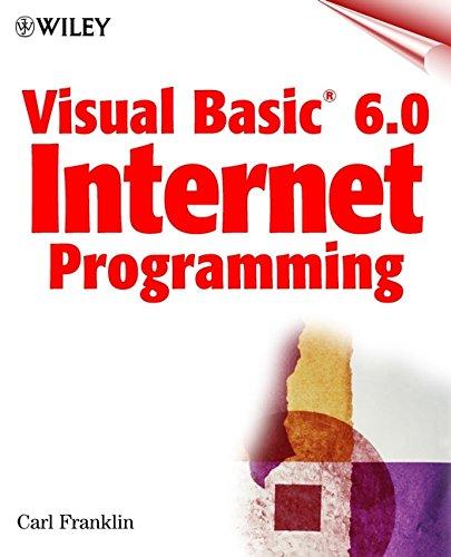 Visual Basic(r) 6.0 Internet Programming