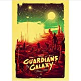 Film Marvel Guardians of The Galaxy Poster Und Drucke Kunst