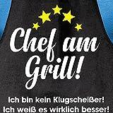 Shirtoo Grillschürze Besserwisser - Lustiges Geschenk für Männer und Grillmeister - 3