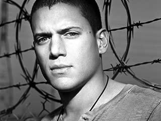 D7575 Prison Break BW Wentworth Miller Michael Scofield TV 32x24 Print POSTER