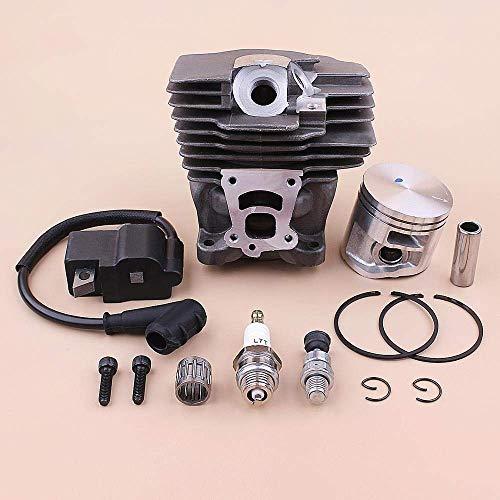 HaoYueDa Kit de Bobina de Encendido de pistón de Cilindro de 47 mm Compatible con Motosierra de válvula de descompresión Stihl MS362 MS362C 1140 020 1200