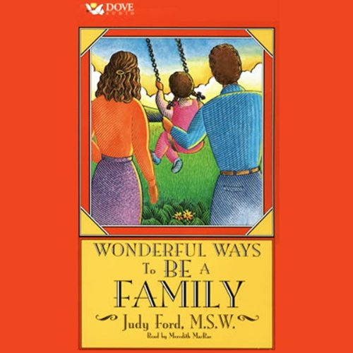 Wonderful Ways to Be a Family audiobook cover art