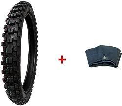 MMG Combo Dirt Bike Tire Size 70/100-17 and Inner Tube Size 70/100-17 TR4 Valve Stem