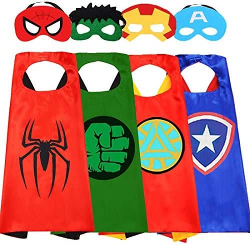 Superhero Capes for Kids Superhero Costumes for Boys Superhero Toys for Kids Dress up 4 10 Year product image
