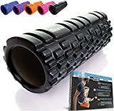 Foam Roller - Rodillo de espuma para masaje muscular (Libro de ejercicios...