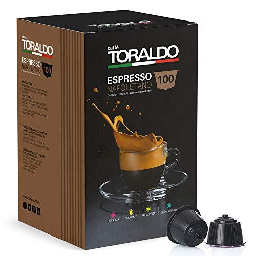 Caffè Toraldo Miscela Decaffeinata Capsule compatibili Nescafè Dolce Gusto 100 pz / 850 g