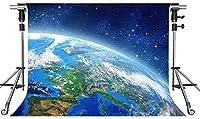 HD地球の背景青い星空の写真の背景10X7ftをテーマにしたパーティーの写真ブースYouTubeの背景PMT649