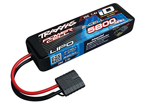 Traxxas 2843X - Power Cell 2S 7.4V LiPo Battery, 25C 5800mAh, iD Connector