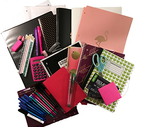 Trendy Middle School to College Back to School Complete Supply Bundle Kit