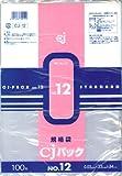 ケミカル 規格袋 CJパック NO.12 CJ-12(100枚入)