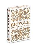 Bicycle Botanica Playing Cards White