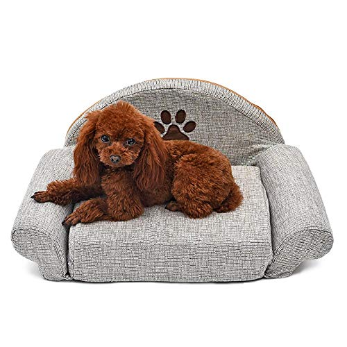 Dog Beds Dog Houses Kennel Pet Removable Dog Bed Four Seasons Gray Dog Sofa Dog Cat House Washable Pet Cushion For Pet Bed Animals Pet Products
