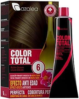 Azalea Total Tinte Capilar Permanente, Color Rubio Oscuro -