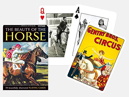 Gibsons Games Piatnik Playing Cards – Bellezza del Cavallo