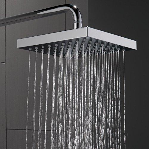 Delta Faucet Single-Spray Touch-Clean Rain Shower Head