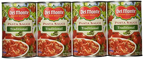 Del Monte Traditional Spaghetti Sauce, 24 Ounce (Pack of 12)