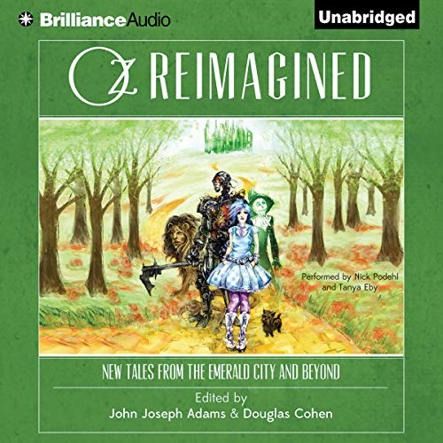 Oz Reimagined audiobook cover art