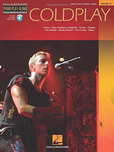 Coldplay Piano Play-Along Vol.16 + Cd