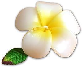 フローティングキャンドル プルメリア 12個入り イエロー 香りつきアロマキャンドル 水に浮かぶ 退職ギフト 結婚式二次会プチギフト ハワイ(12個入り)