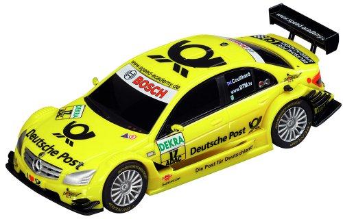 Carrera Go - 20061219 - Voiture Miniature et Circuit - AMG-Mercedes C-DTM 2008 - Deutsche Post 2010 - D.Coulthard