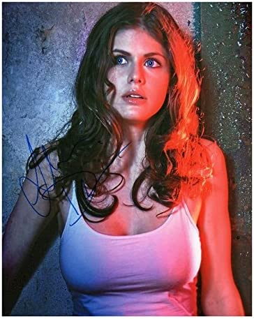 Jacksonville Mall Photo Limited time trial price Alexandra Daddario Signed 10 x Autographed 8