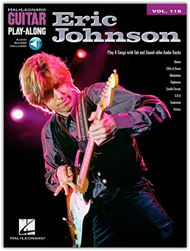Guitar Play-Along Volume 118: Eric Johnson. Partitions, CD pour Guitare