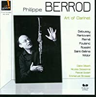 Art of Clarinet by CLAUDE DEBUSSY / CAMILLE SAINT- (2011-06-14)