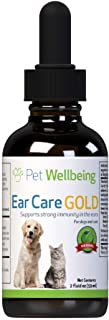 Pet Wellbeing Ear Care Gold 4 oz
