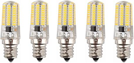 Led Bulbs, LED Light Bulbs E14 Base 72-SMD 3014 3W, 30W Incandescent Bulb Equivalent, 240-260LM, AC200-240V 5-Pact led lig...