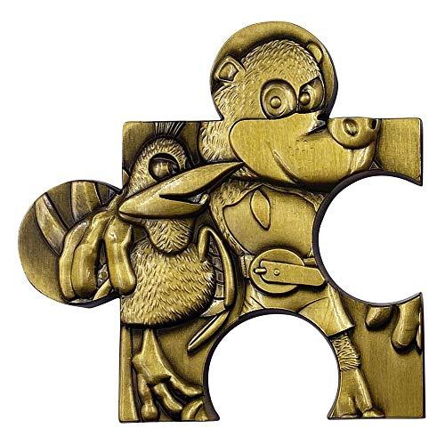 FaNaTtik Banjo-Kazooie Replica Jiggy Piece (gold plated) Replicas