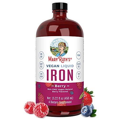 Liquid Iron for Kids & Adults by MaryRuth