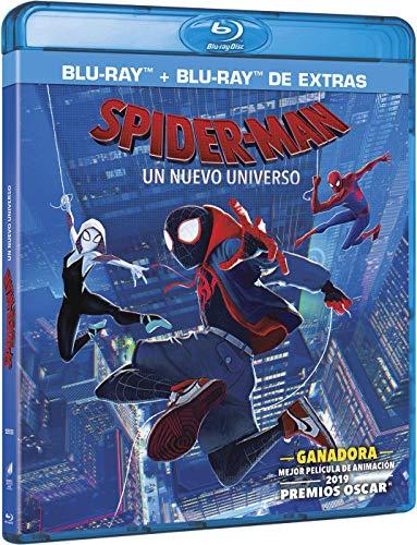 Spider man: Un nuevo universo (BD + BD Extras) [Blu-ray]