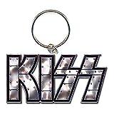 Photo de Kiss Logo Gene Simmons Paul Stanley porte-clés sous licence