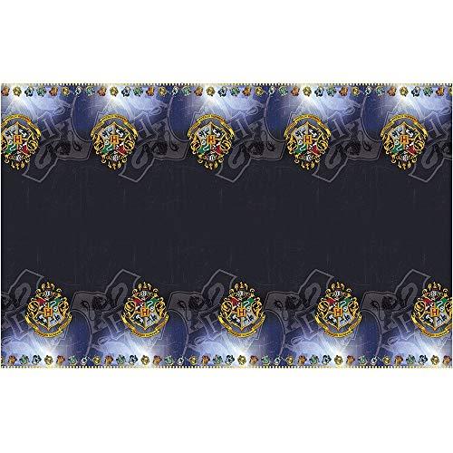 Unique Party 59103 - Harry Potter Plastic Tablecloth, 7ft x 4.5ft
