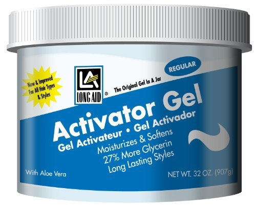 Long Aid Activator Gel Regular, 32 Ounce by Long Aid