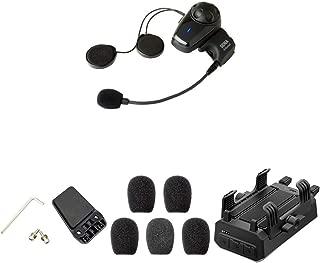 Sena SMH10-11 Bluetooth-Headset und Gegensprechanlage + SMH-A0301 Helmklemmenset + SC-A0109 Mikrofonaufsätze + GP10-02 Bluetooth Audio-Pack & Zubehör für GoPro-Kamera