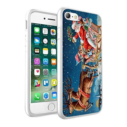 CHRISTMAS Design nadrukowane na zamówienie czarne twarde etui na telefon komórkowy do Huawei P20 (126)