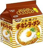 日清食品 チキンラーメン 5食パック×12個(6個×2ケース)【入り数3】