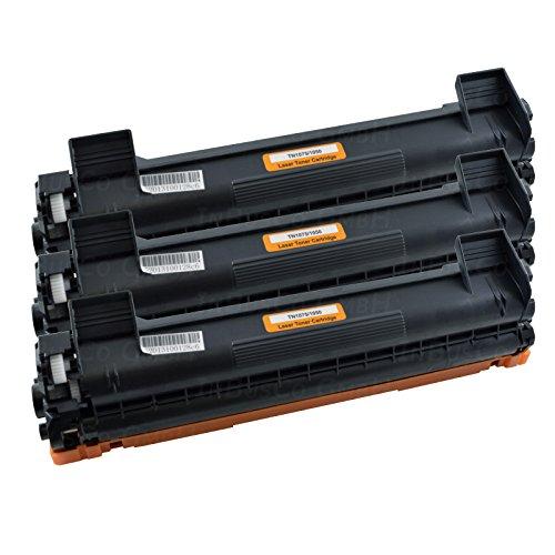 3x Cartucho TN1050para Brother HL 1110/hl-1110e/HL de 1112R/HL de 1111/1112/HL de 1512a/HL de 1112E/HL de 1118/HL de 1201/HL de 1201W/HL de 1210W/HL de 1211W/HL de 1212W