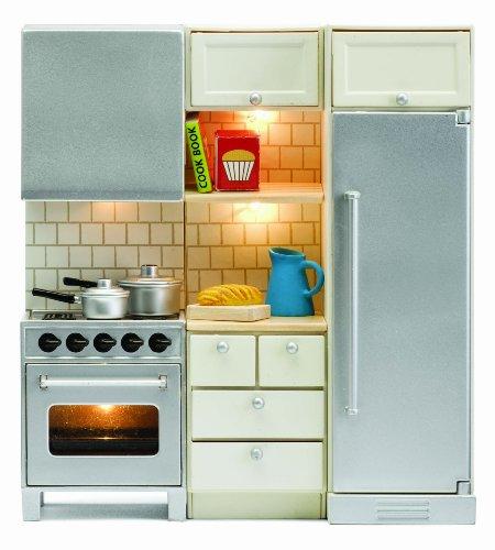 Lundby 60.2064.00 - Smaland: Küchenset für Puppenhaus