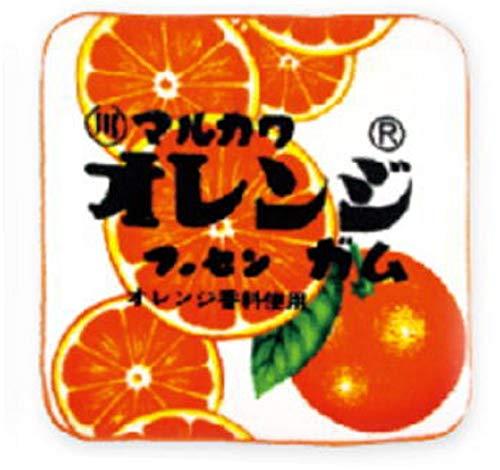お菓子シリーズ やわらかミニタオル オレンジ マルカワフーセンガム OC-5528096FO
