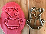 Para Galletas Templo/Peppa Pig Varios. Logotipos de biolog. PLA aprox. 8cm