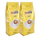Caffè Molinari Espresso 'Qualità Oro', ganze Bohne, 2er Pack (2 x 500 g)