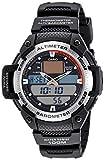 Casio Malla Me Up Outgear Cuarzo: Batería JAPAN Reloj (Modelo de Asia) SGW-400H-1B