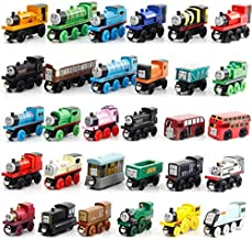 Happytoys 30pcs/set the wooden model of Thomas small train