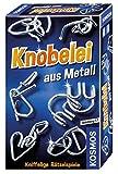 KOSMOS 711221 - Knobelei aus Metall, Knifflige Rätselspiele und spannende Knobeltricks, Mitbringspiel