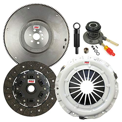ClutchMaxPRO Performance Stage 2 Clutch Kit with Flywheel with Slave Cylinder Compatible with 96-01 Chevrolet S-10, 96-01 GMC Sonoma, 96-00 Isuzu Hombre