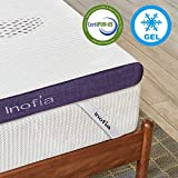 <span class='highlight'>Inofia</span> Gel Memory Foam Mattress Topper Single, 8CM Firmness GELEX Bed Topper with Washable Cover, Pressure Relief | <span class='highlight'>Sleep</span> Cooler, 2 Layer foam topper for Rest Easy, 100-Night Home Trail (90x190)