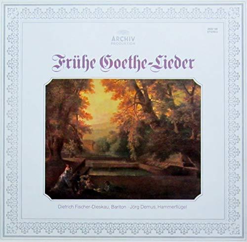 Frühe Goethe-Lieder (Gedichte von Goethe in zeitgenössischen Vertonungen) [Vinyl LP] [Schallplatte]